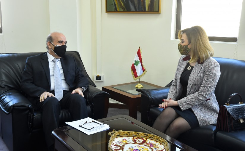 Minister Charbel Wehbeh meets Minister of Sport