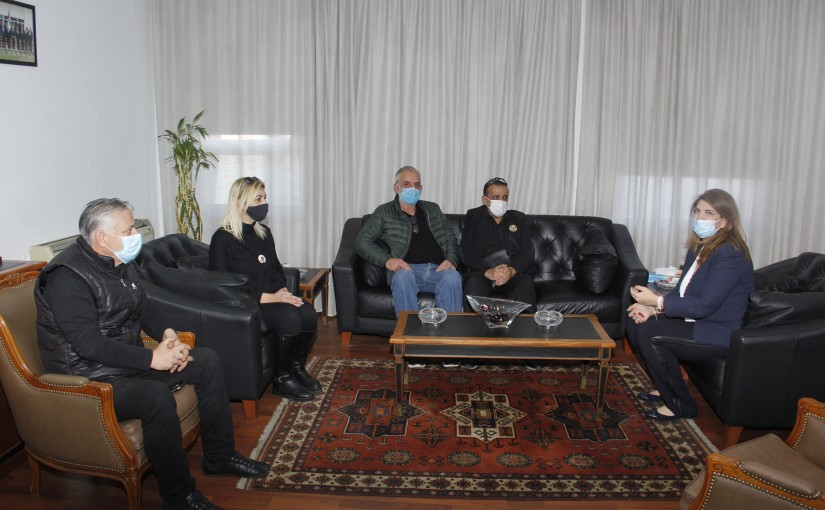 Minister Marie Claude Najem meets a Delegation from the families of the victims of the Beirut Port