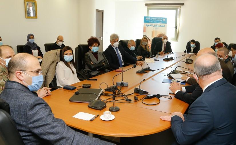 Minister Hassan Hamad Heading a Coronavirus Committee