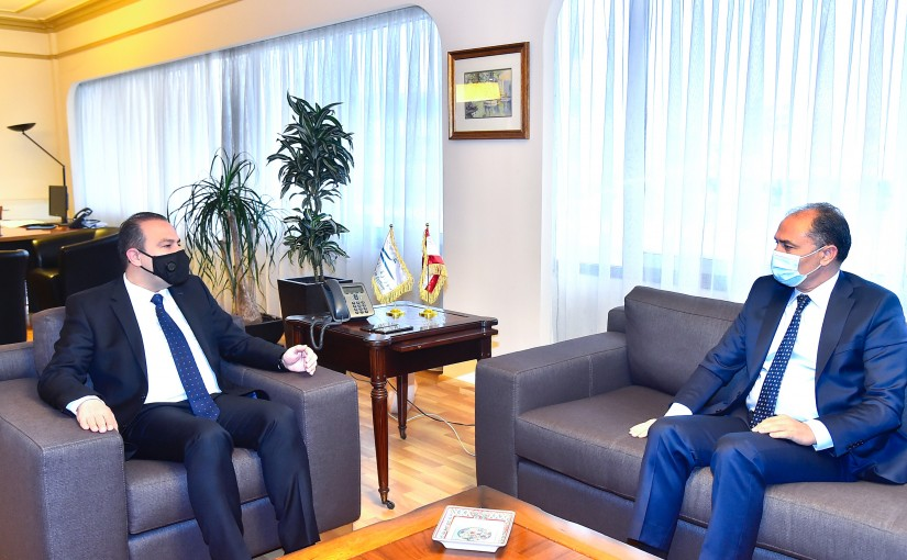 Minister Abass Mourtada meets Tunisian Ambassador