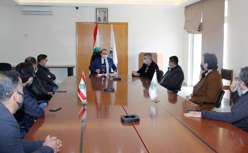 Minister Abass Mourtada meets a Delegation from Chicken Sector