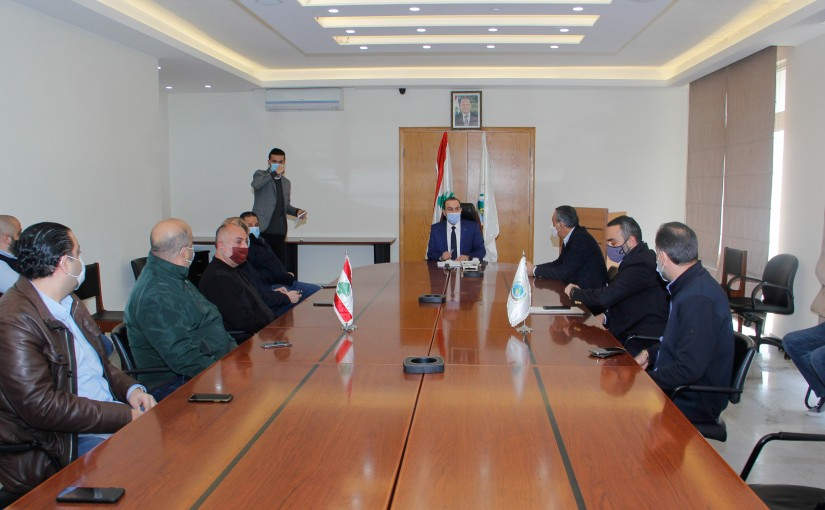 Minister Abass Mourtada meets a Delegation from Meat Sector
