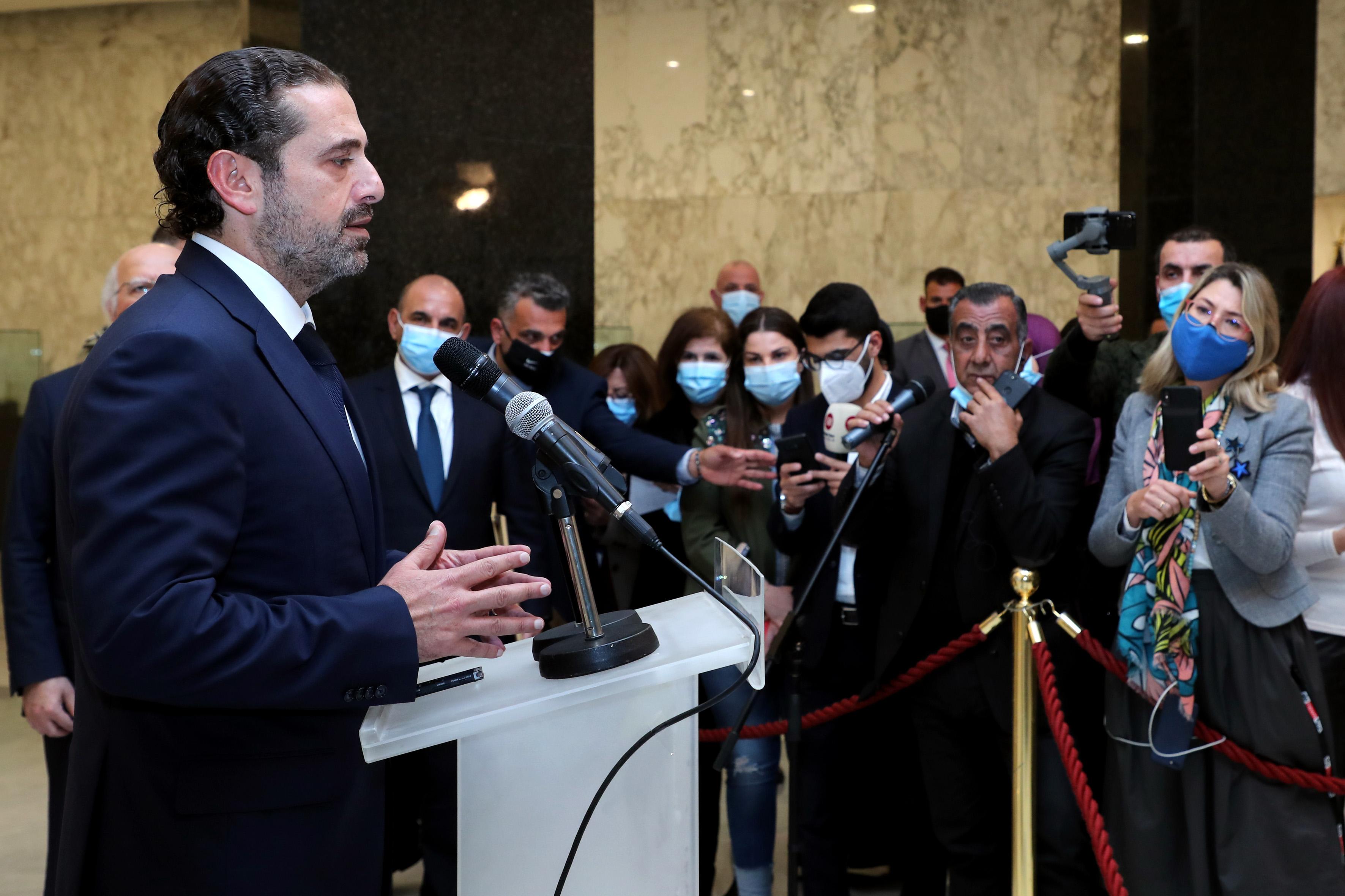 1 -Designated PM Saad Hariri (2)