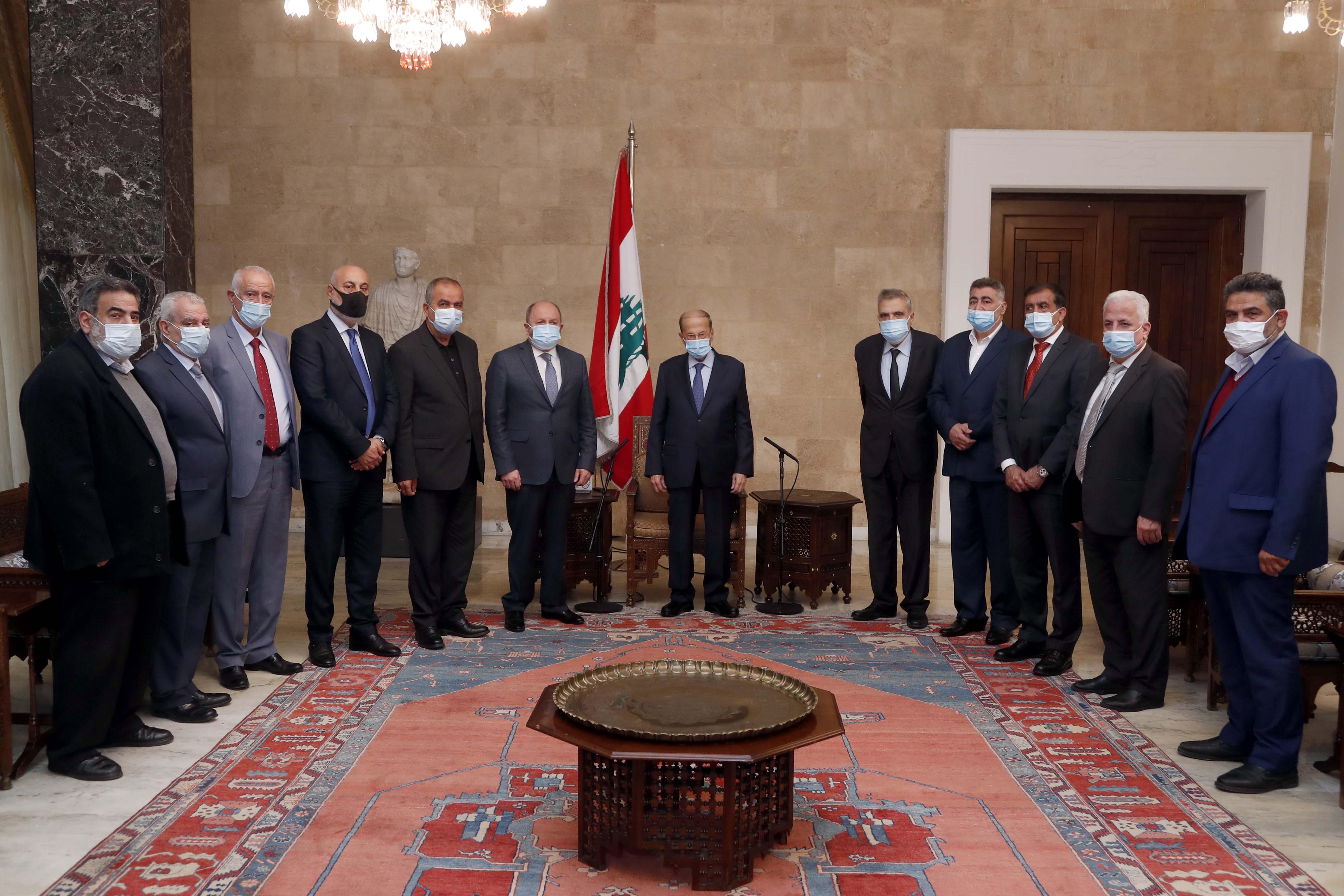 1 - Dr. Bechara el Asmar with a Delegation