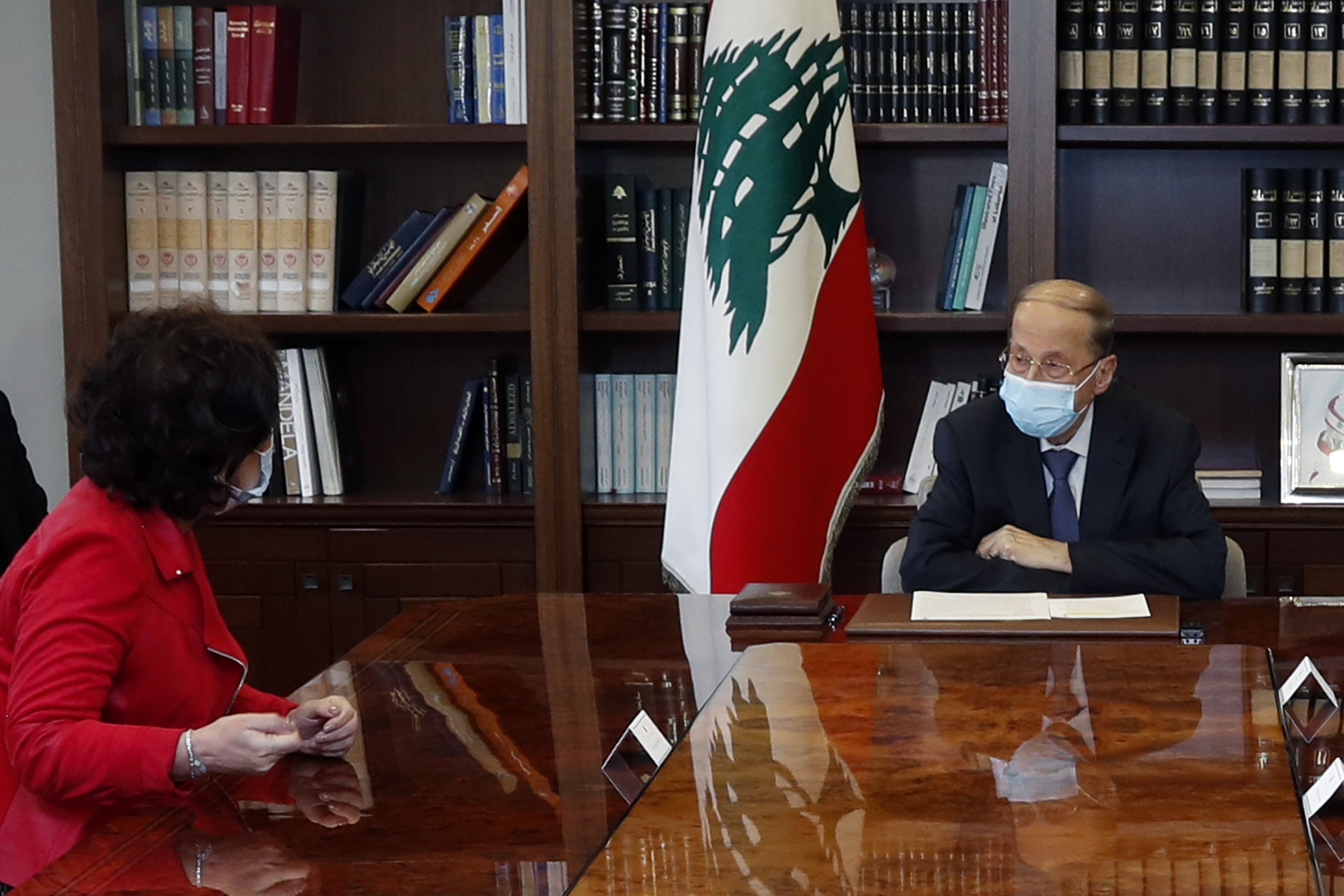 2 - U N in Lebanon Mrs. Najat Ruchdi
