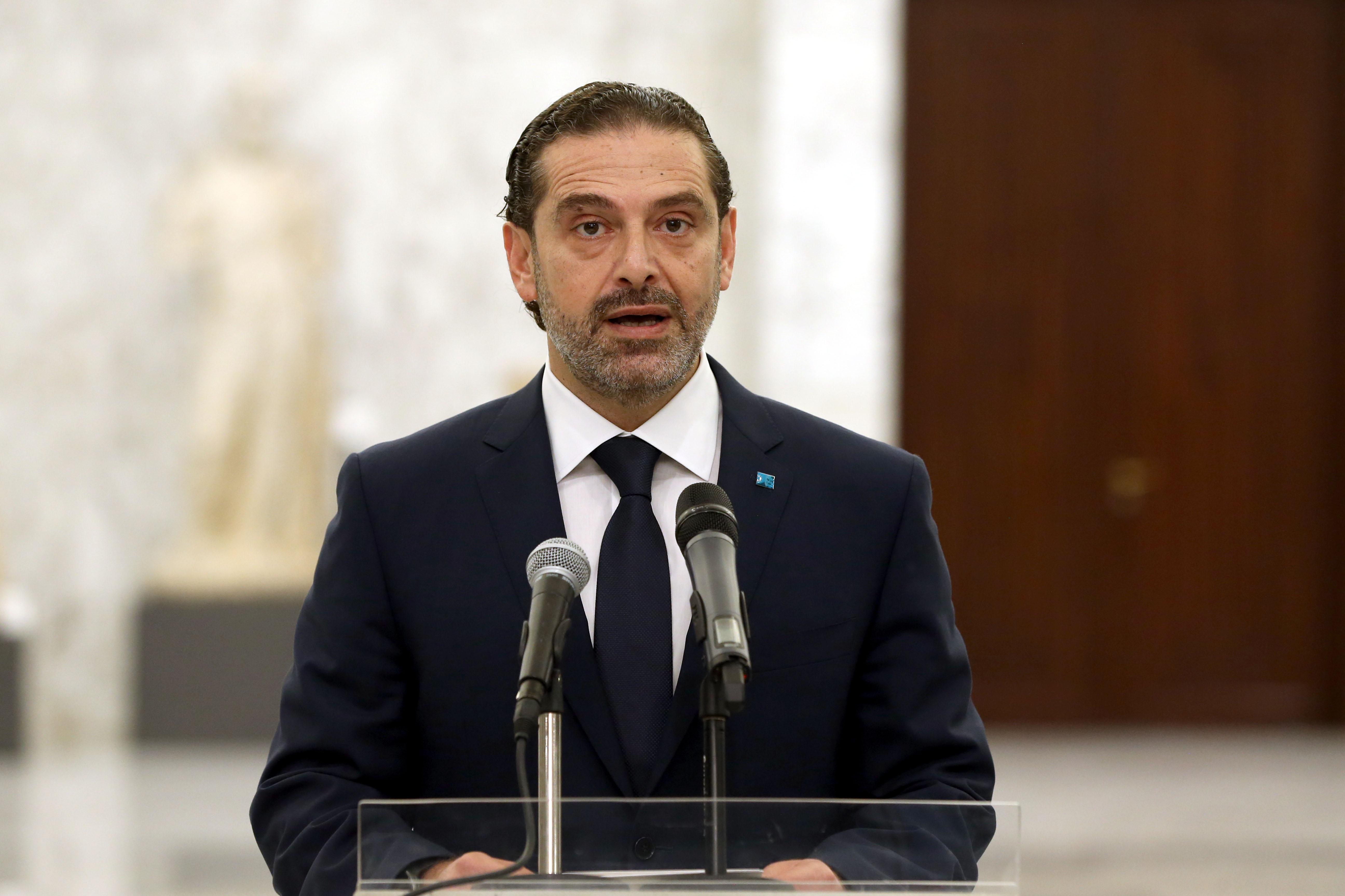 5 - Designated PM Saad Harir 01 i