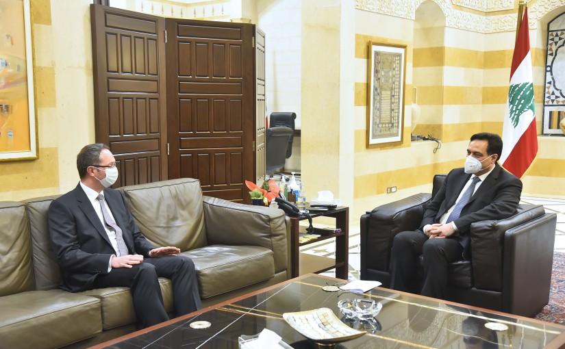Pr Minister Hassan Diab meets Turkish Ambassador