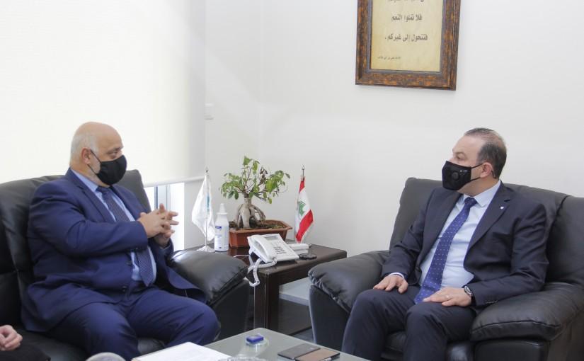 Minister Abass Mourtada meets Cuda Ambassador