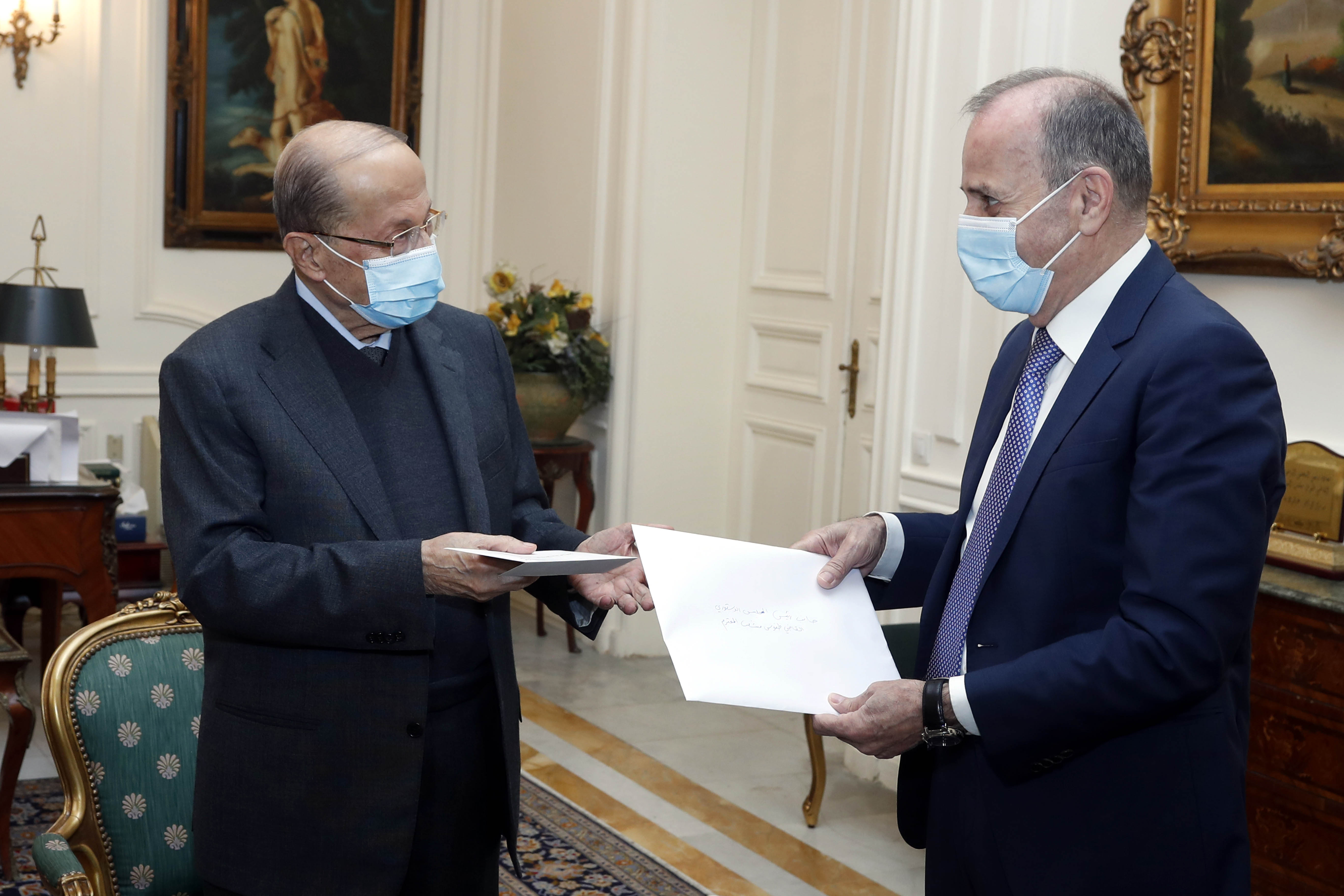 President Aoun visited the Constitutional Council