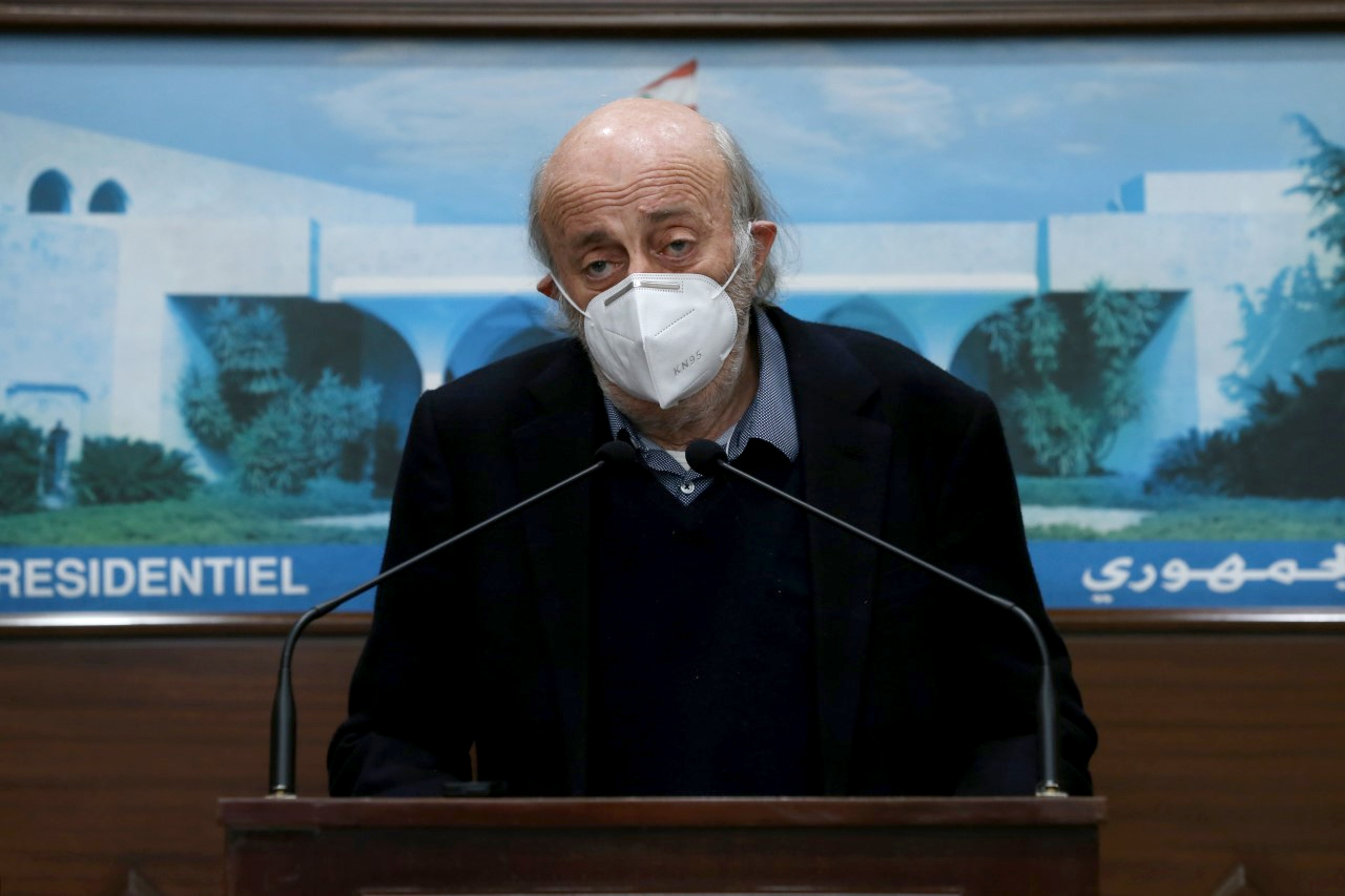 Walid Kamal Jumblatt 1