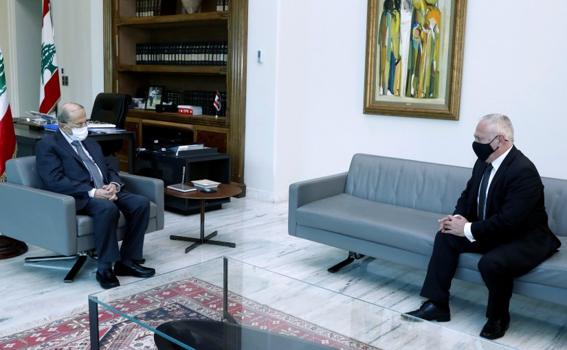President Michel Aoun meets  Ambassador of Armenia to Lebanon  Vahagn Atabekian.