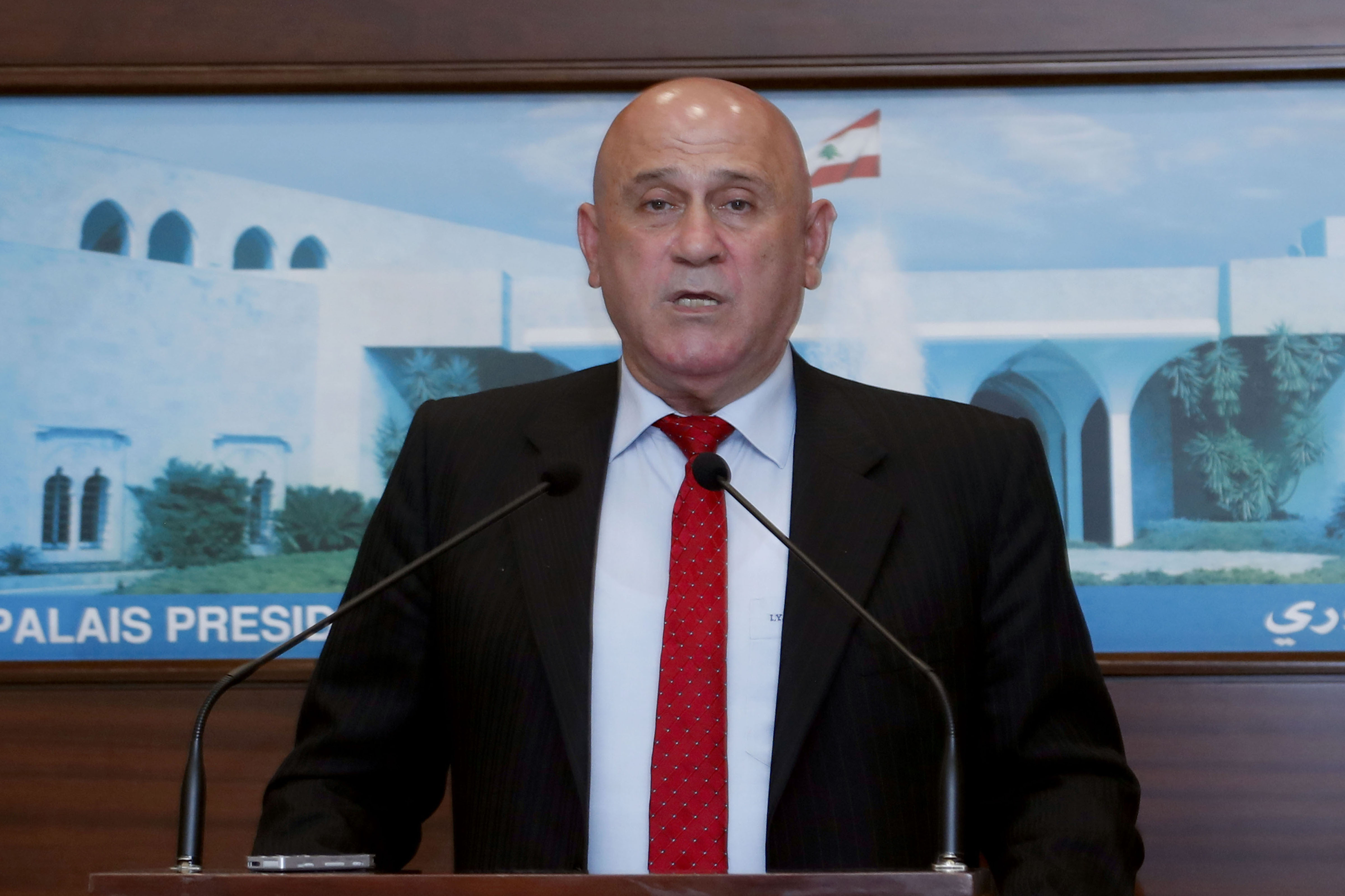 1 - Miinister Imad Hoballah 1