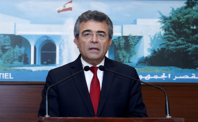 Mr. Antoine Constantine a statement by the Presidency of the Lebanese  Republic
