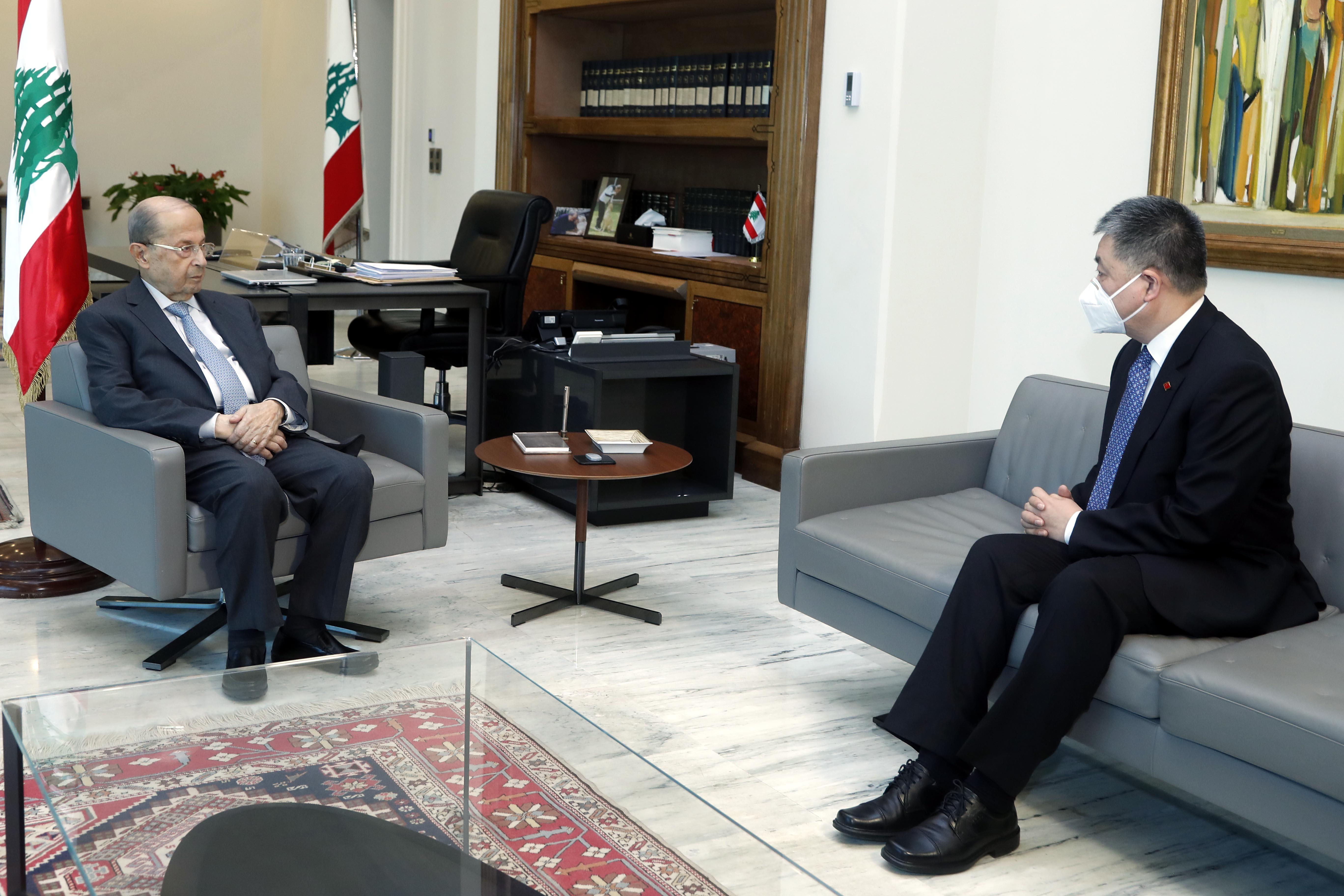 2 -Mr. Wang Kejian Chinese Ambassador to Lebanon