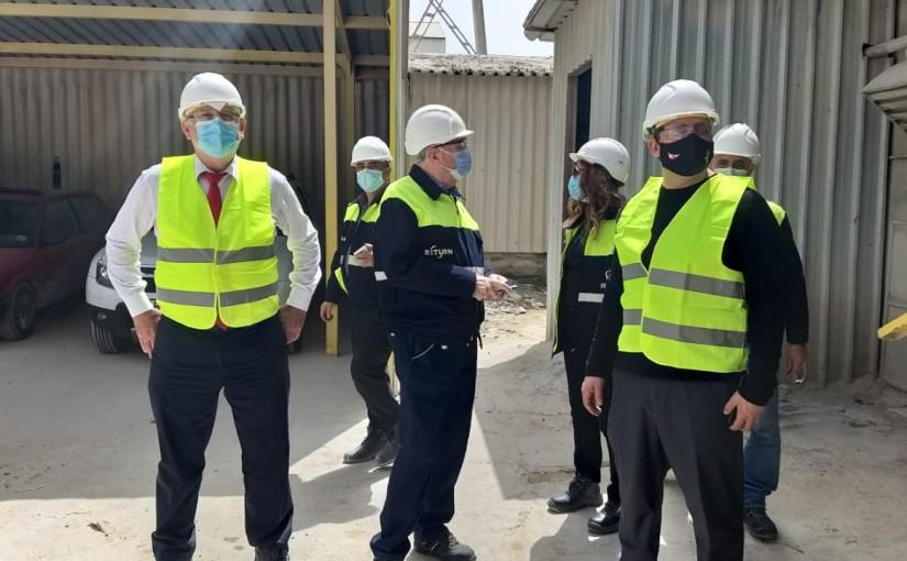 Minister Imad Heballah Visits Siblim Cement