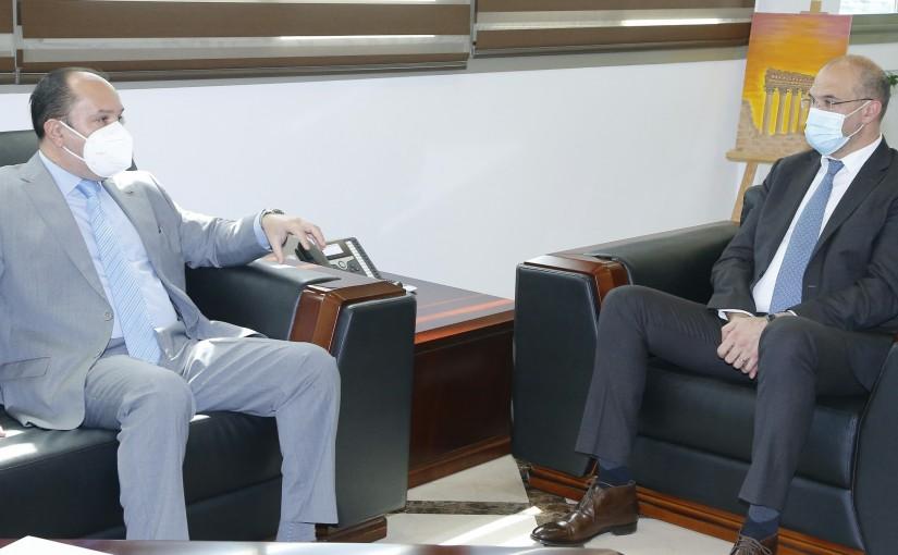 Minister Hassan Hamad meets Cuda Ambassador