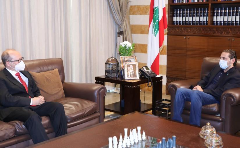 Pr Minister Saad Hariri meets Austria Ambassador