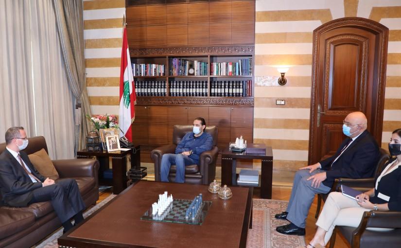 Pr Minister Saad Hariri meets Turkish Ambassador