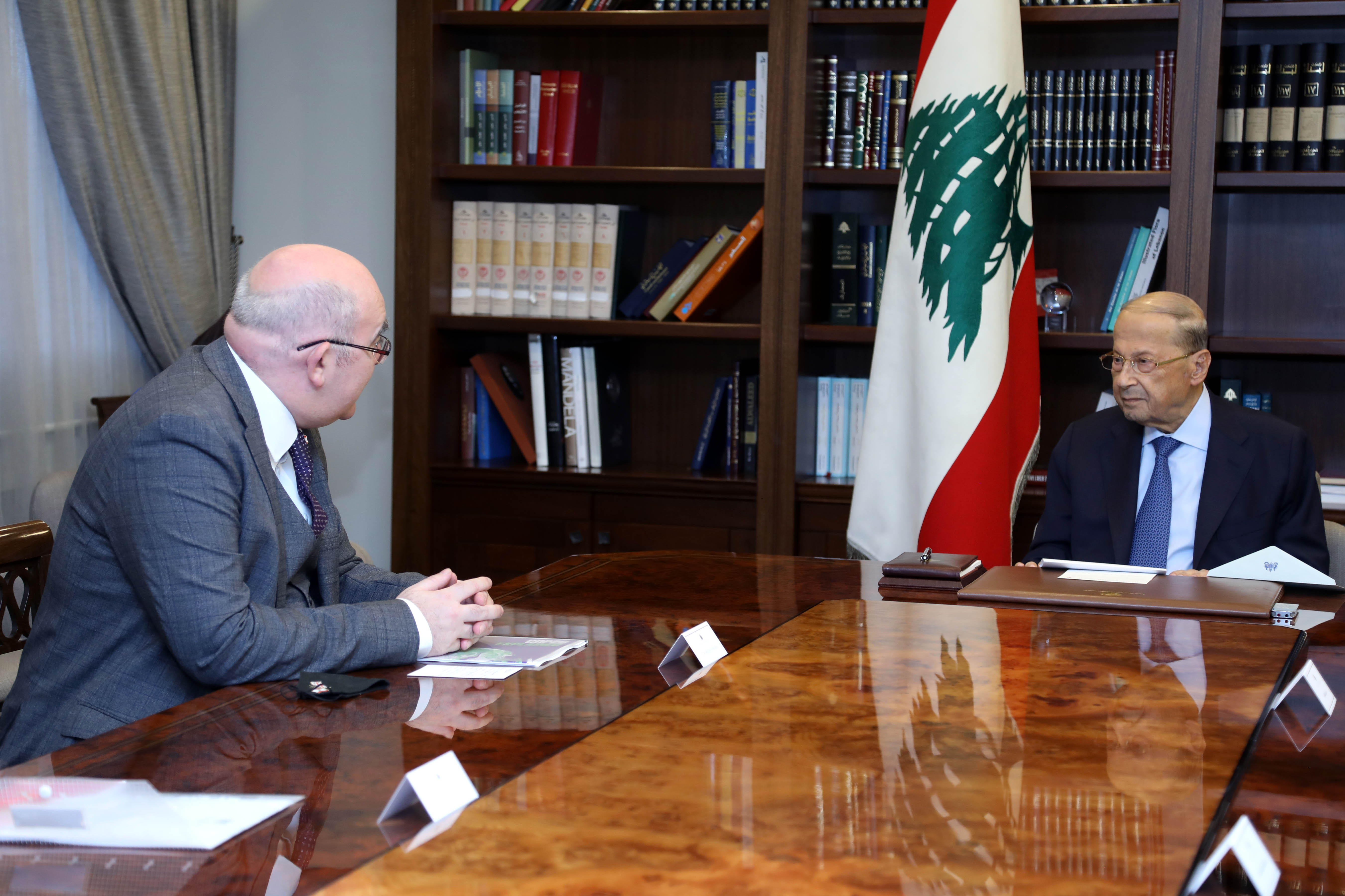 1- Head of the diplomatic mission Chargé d'Affairs to the British Embassy in Lebanon