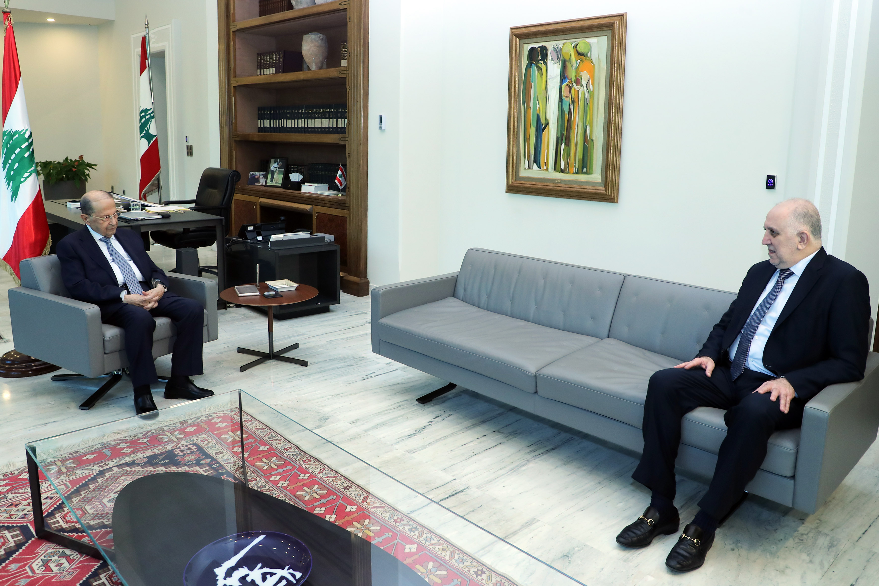 1- Min.of Interior Mohammad Fehmi