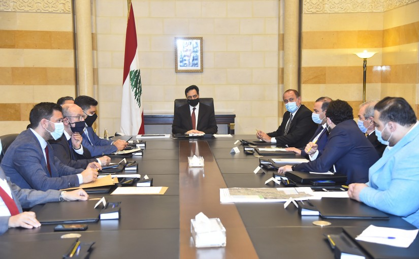Pr Minister Hassan Diab Heading a Committee for Karoun Dam