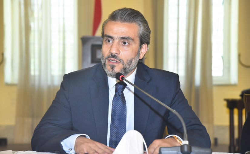 A Conference at the Grand Serail Under the Patronage of Judge Mahmoud Makkieh