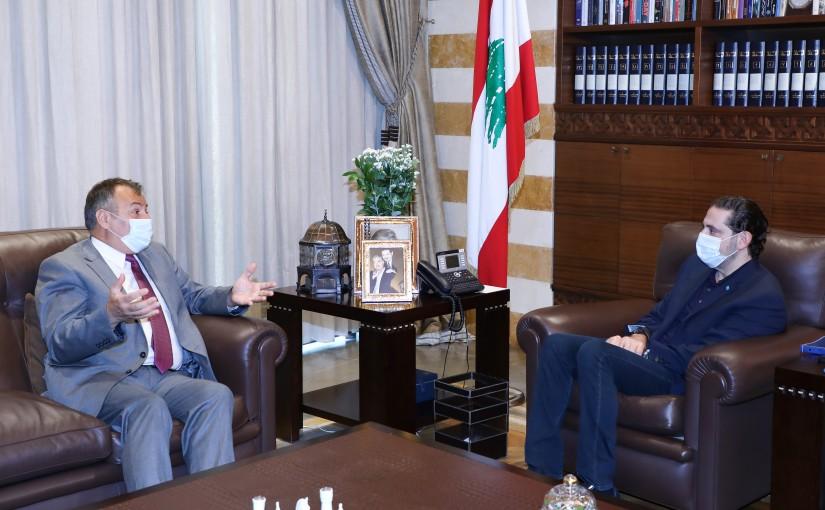 Pr Minister Saad Hariri meets Bulgarian Ambassador