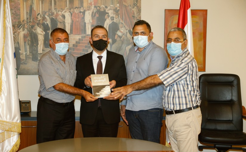 Minister Abass Mourtada Honours a Delegation from Lebanese Artists