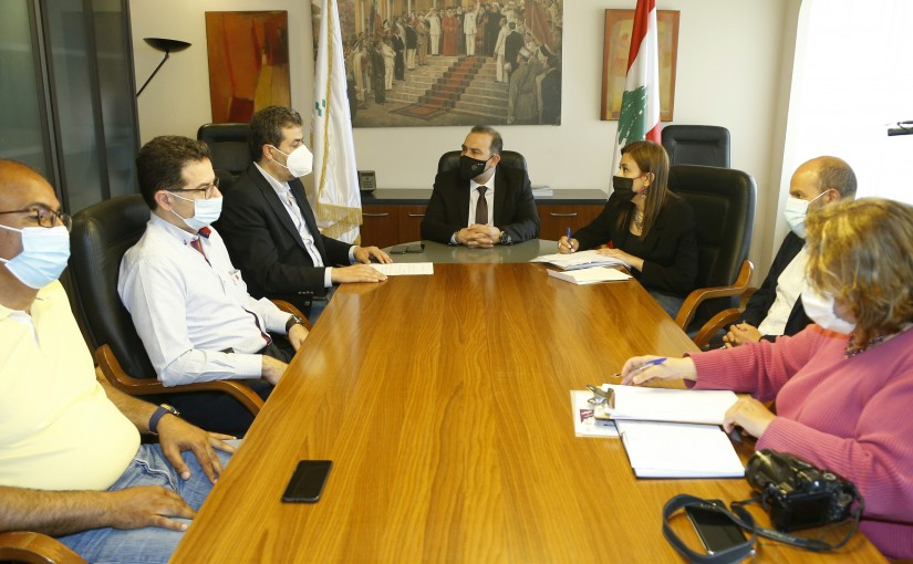 Minister Abass Mourtada meets a Delegation from Culture Committee