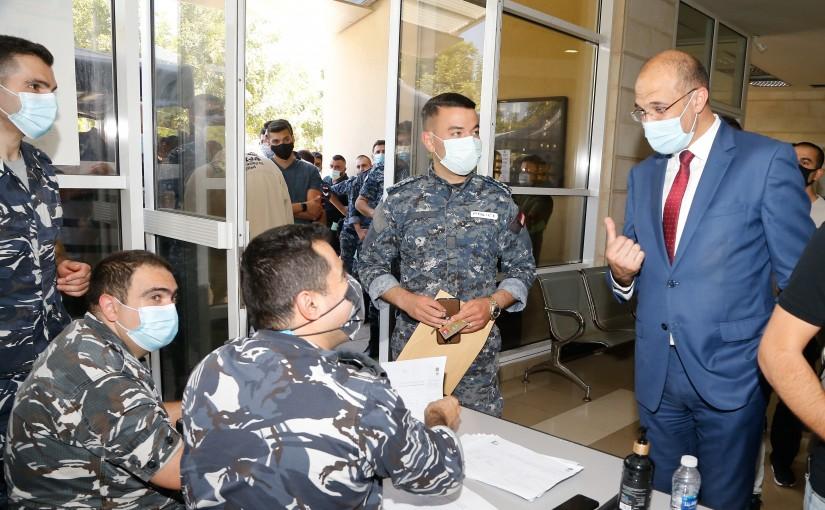 Minister Hassan Hamad Visits Lebanese University
