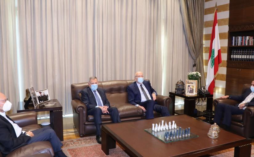 Pr Minister Saad Hariri meets Formers Pr Ministers Najib Mikati & Fouad Siniora & Tammam Salam