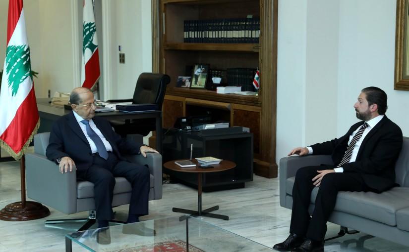 President Michel Aoun meets MP Faycal Karame