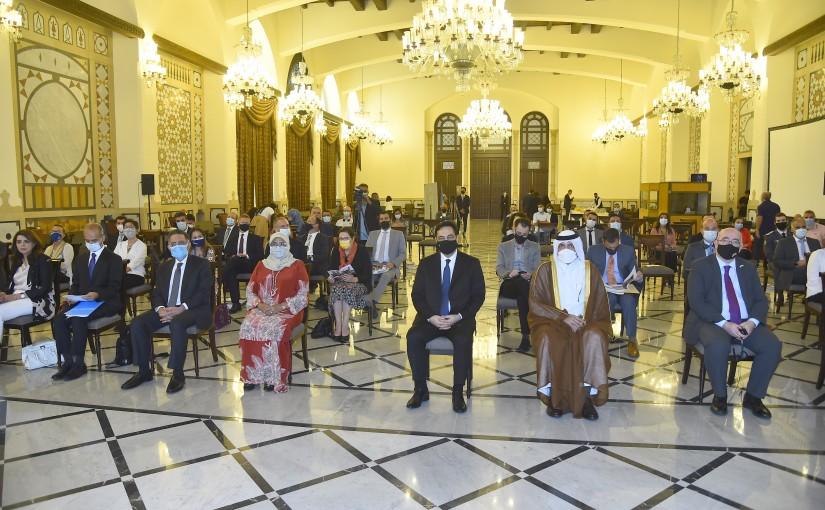 Pr Minister Hassan Diab Attends UNIHABITA Conference