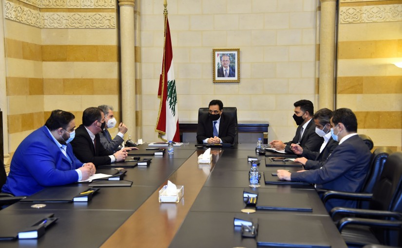Pr Minister Hassan Diab Heading Electricity Committee