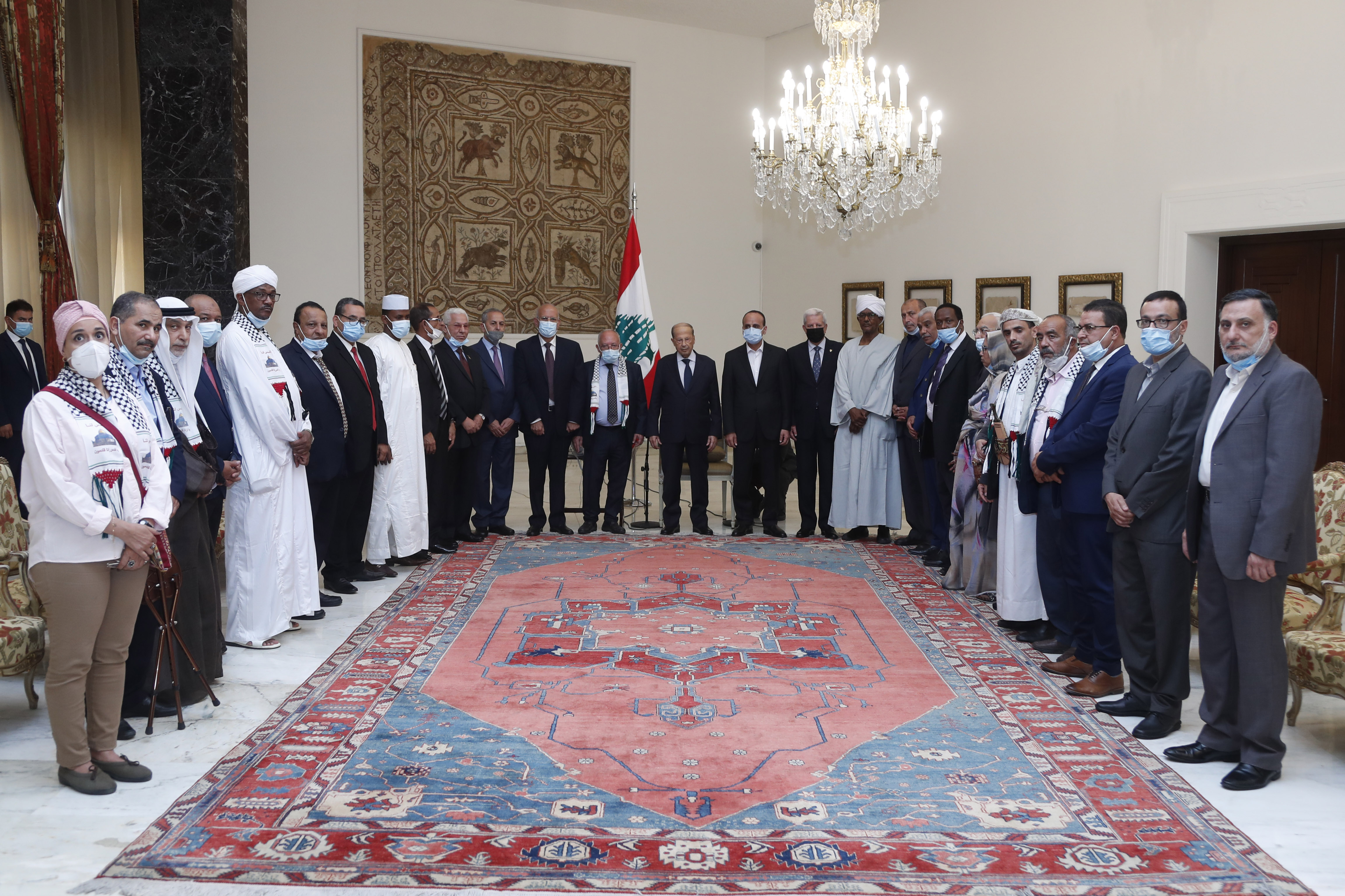 DELEGATION FROM ARABIC PARTIES