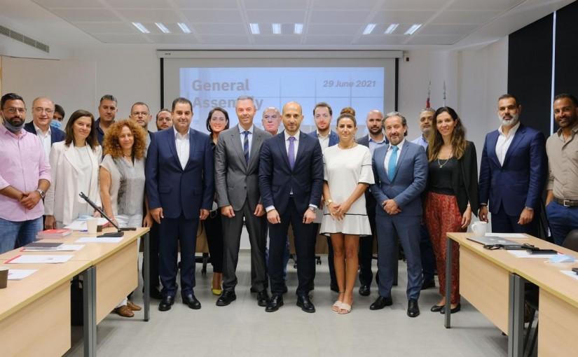 Tne New Board of Franchise Association in Leba