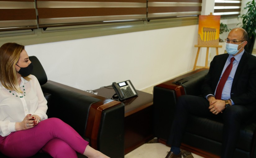 Minister Hassan Hamad meets Minister of Sport