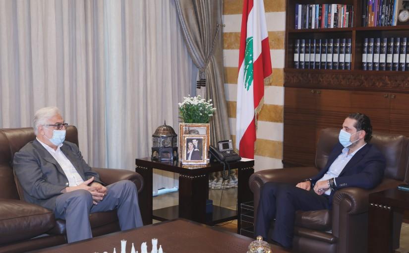 Pr Minister Saad Hariri meets MP Jihad Abdel Samad