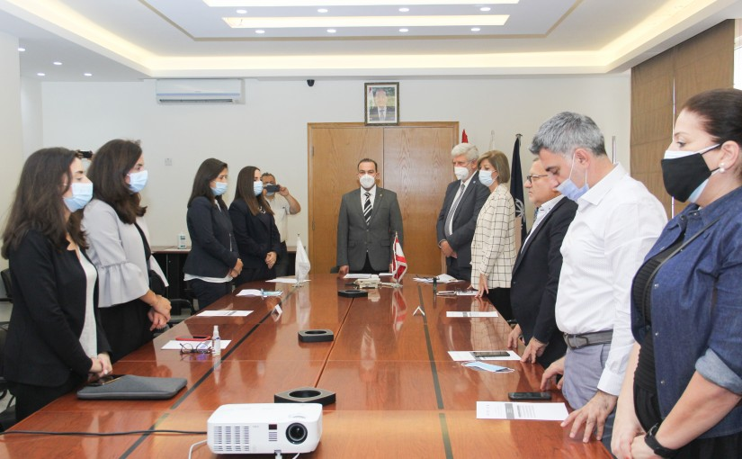 Minister Abass Mourtada meets a Delegation from FAO