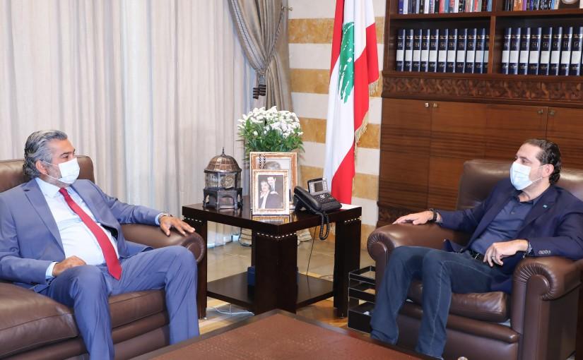 Pr Minister Saad Hariri meets Mr Assad Sakal