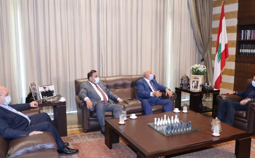 Pr Minister Saad Hariri meets a Delegation from Akkar