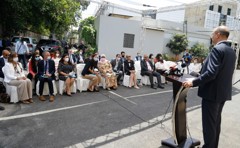 Minister Hassan Hamad Attends a Conference for UN-HABITAT