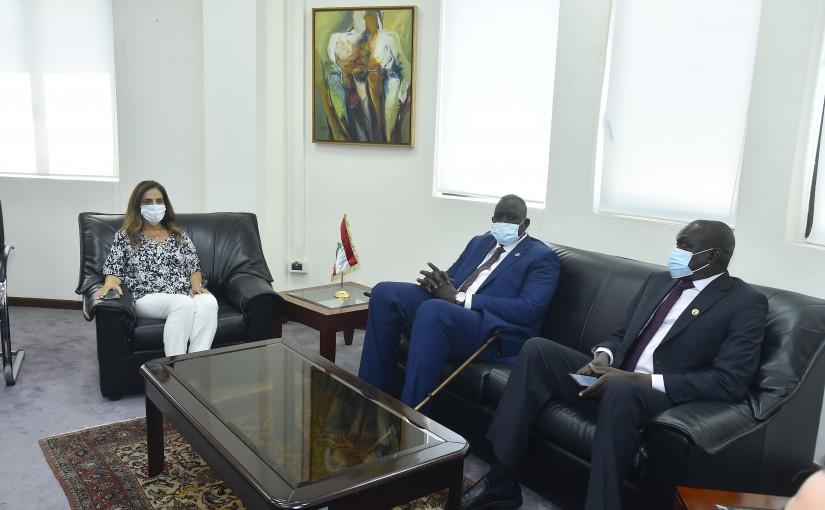 Minister Zeina Akkar meets Sudan Deputy Minister of Foreign Affairs