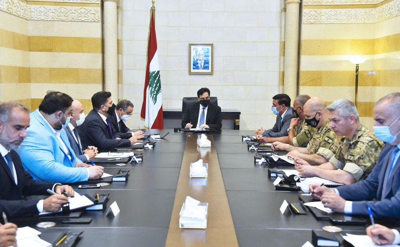 Pr Minister Hassan Diab Heading a Committee for Beirut Port