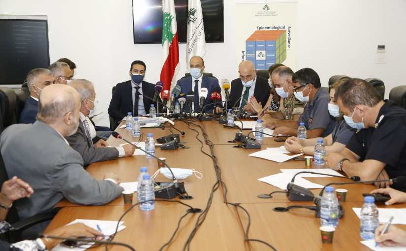 Minister Hassan Hamad meets a Delegation from Insurance Syndicate