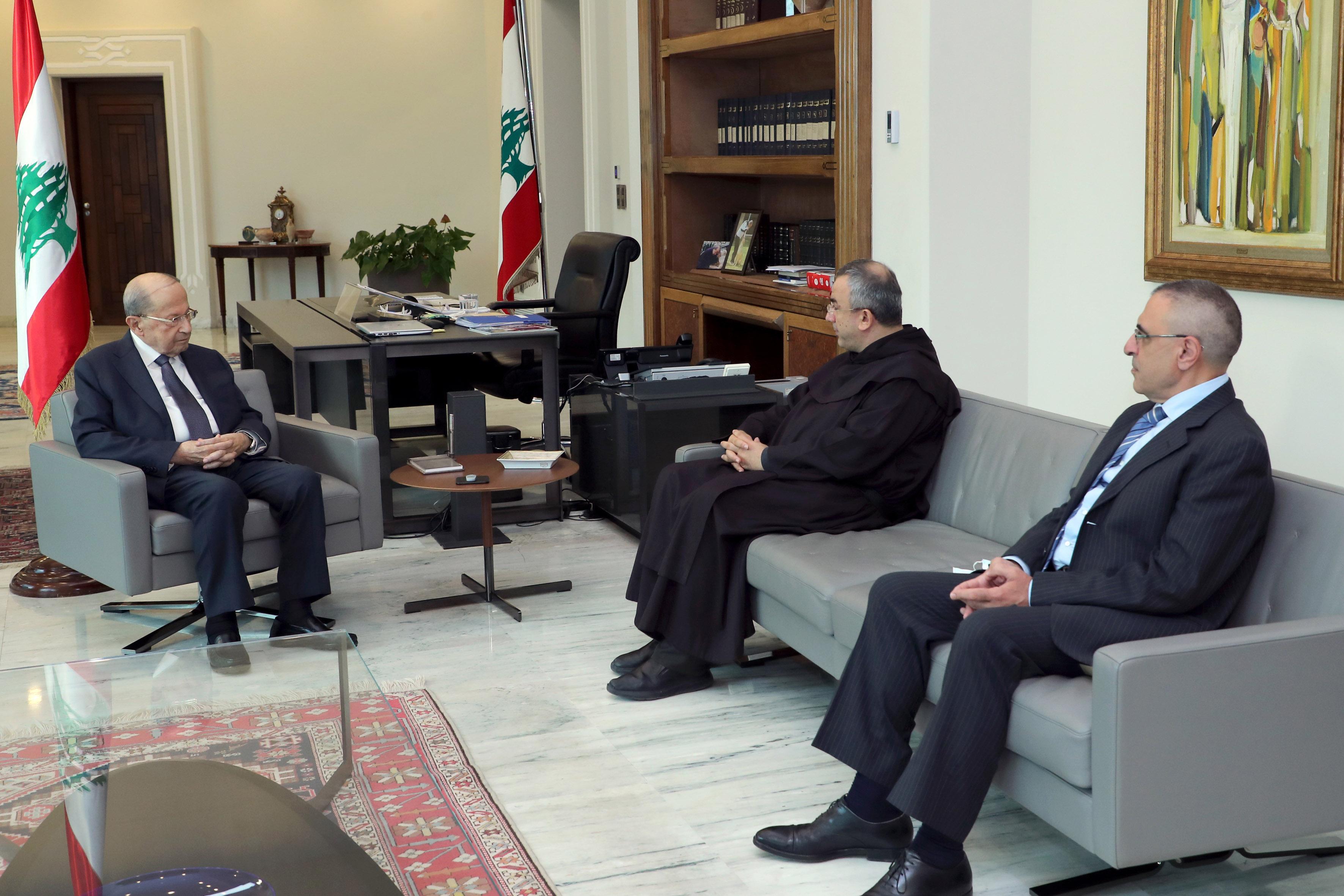 1-Pr. Caritas Father Michel Abboud & Dr. Nicola Al Hajjar (2)