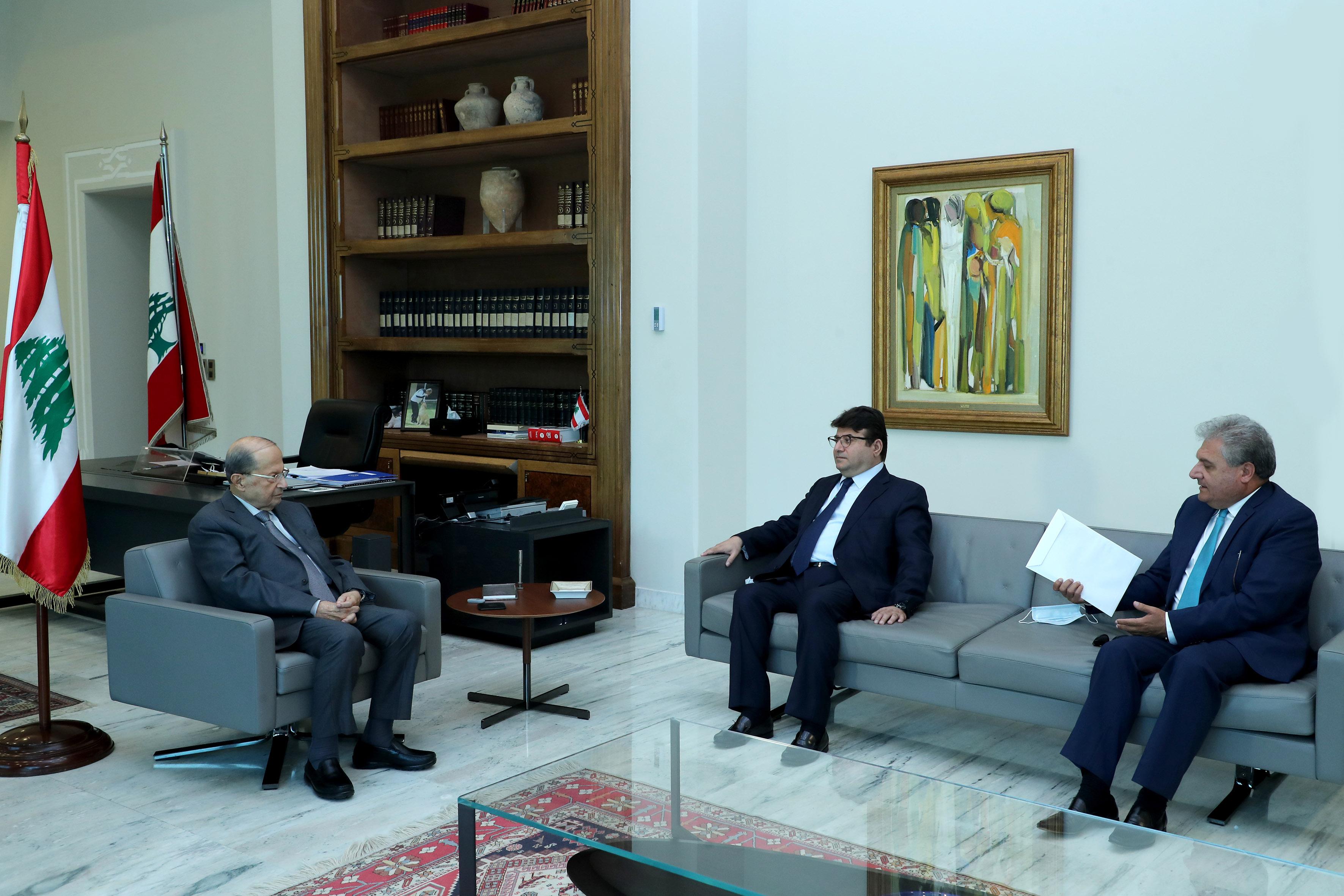 2 - Lawyer Paul Kenaan & Mr. George Arab