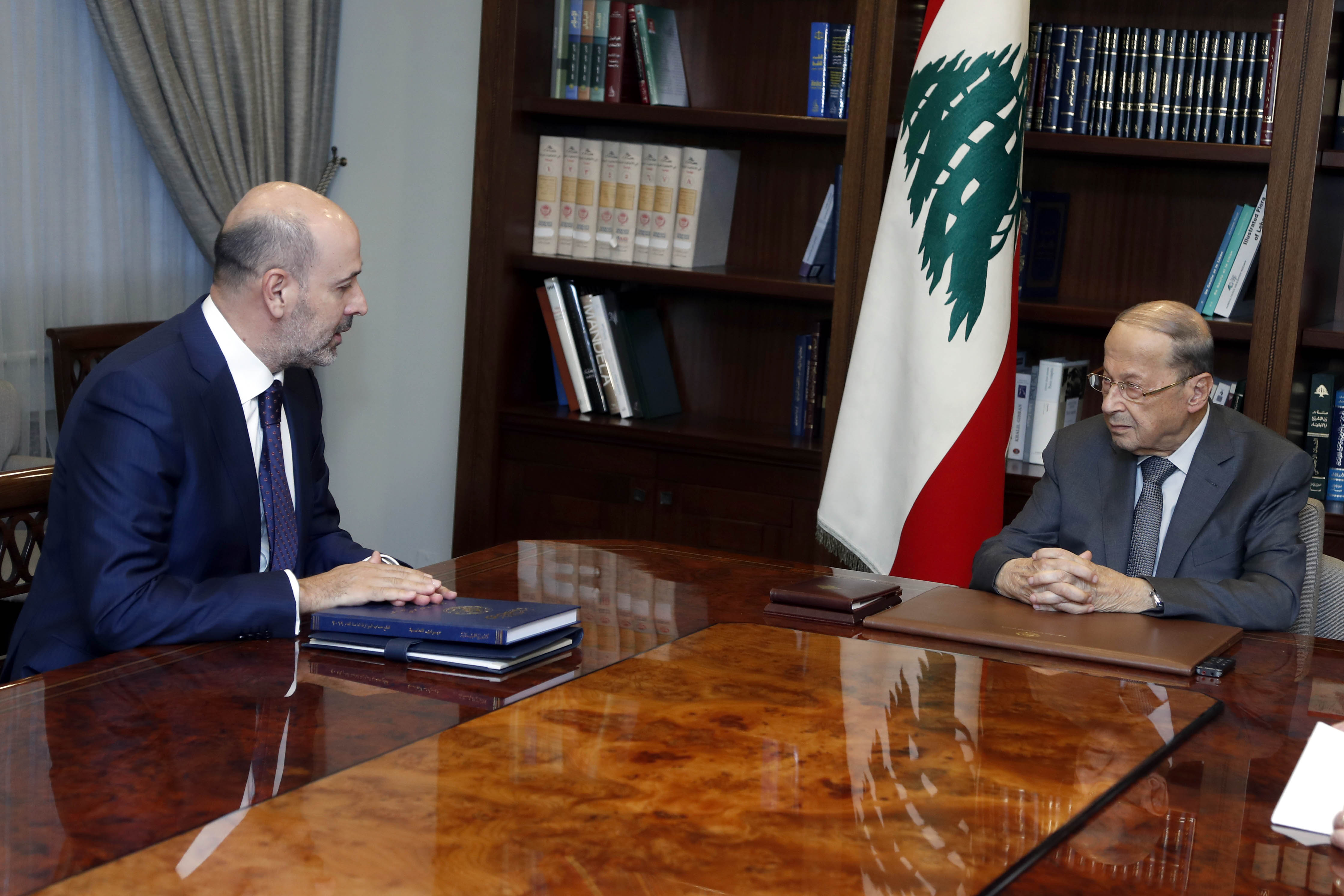 1 - Judge Mohamad Badran with a delegation (1)