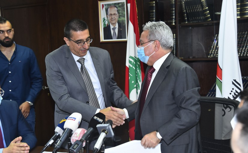 Handing over Ceremony at the Ministry of Social Affairs