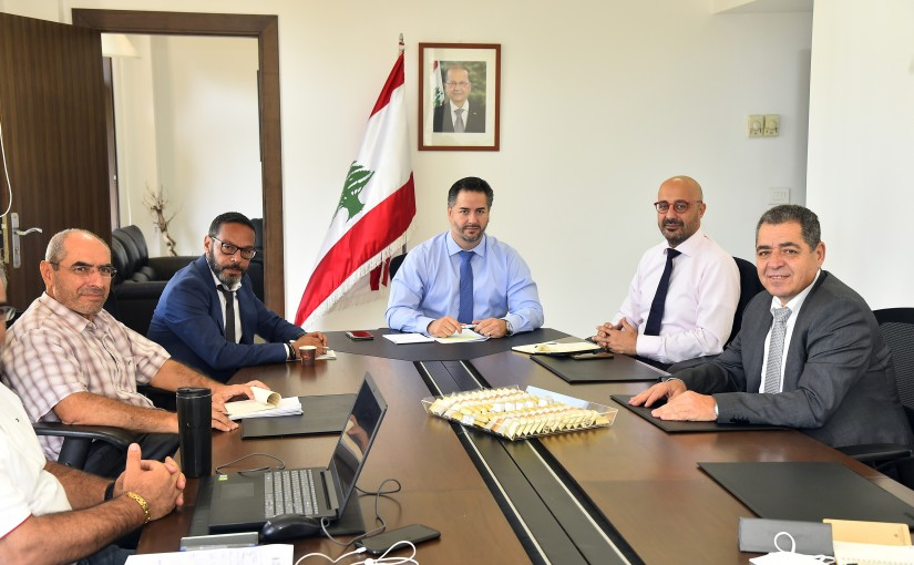 Minister Hani Salam meets Minister of Environment